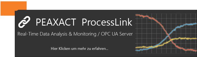 Neu: PEAXACT ProcessLink